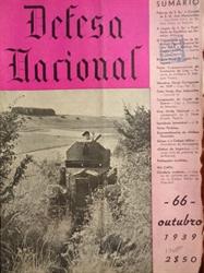 Imagem de  DEFESA NACIONAL Nº 66