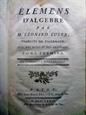 Imagem de Eléments d'algebre - 2 volumes
