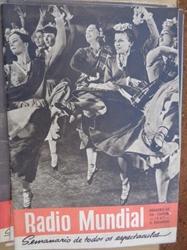 Imagem de   RADIO  MUNDIAL - Nº 43 - 24 DE OUTUBRO - 1947