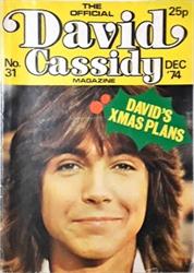 Imagem de  David Cassidy Magazine - 31 - DEC 1974