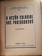 Imagem de A acção colonial dos portugueses (conferências)