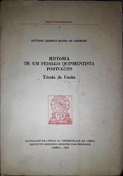 Imagem de História de um Fidalgo Quinhentista Português Tristão da Cunha