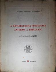 Imagem de HISTORIOGRAFIA PORTUGUESA ANTERIOR A HERCULANO